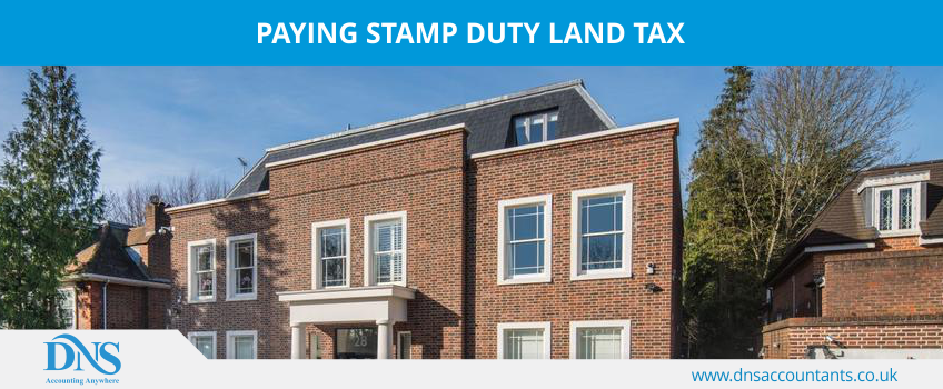 Paying Stamp Duty Land Tax