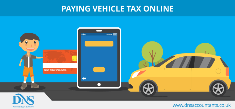 Paying vehicle tax online