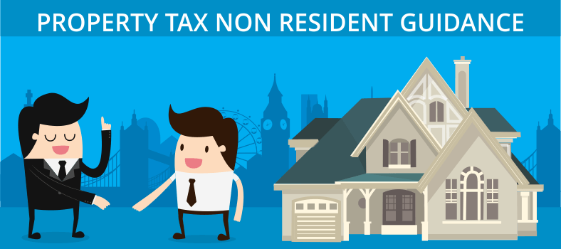 Property tax non resident guidance
