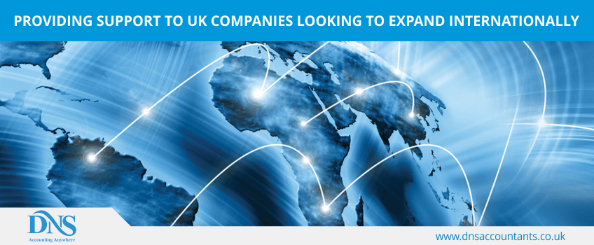 Providing support to UK companies looking to expand internationally