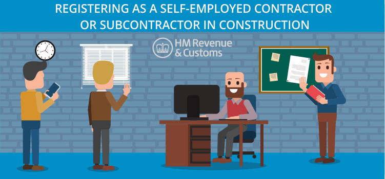 Registering as a self-employed subcontractor in construction-CIS