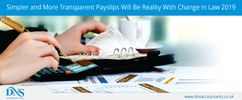 simpler and more transparent payslips will be reality with