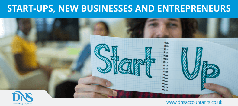 Start-ups, New Businesses and Entrepreneurs