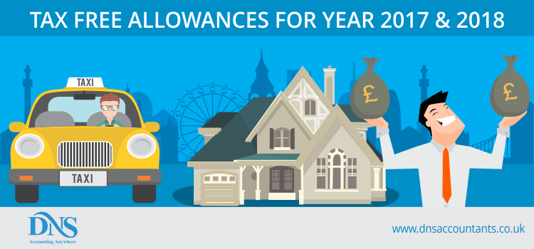 Tax Free Allowances for 2017 & 2018
