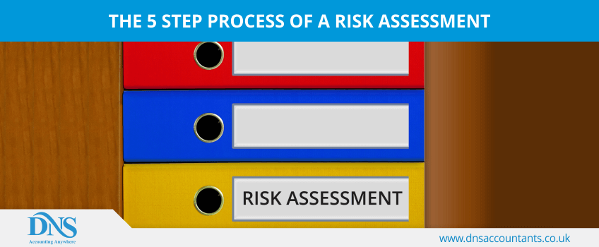 The 5 step process of a risk assessment
