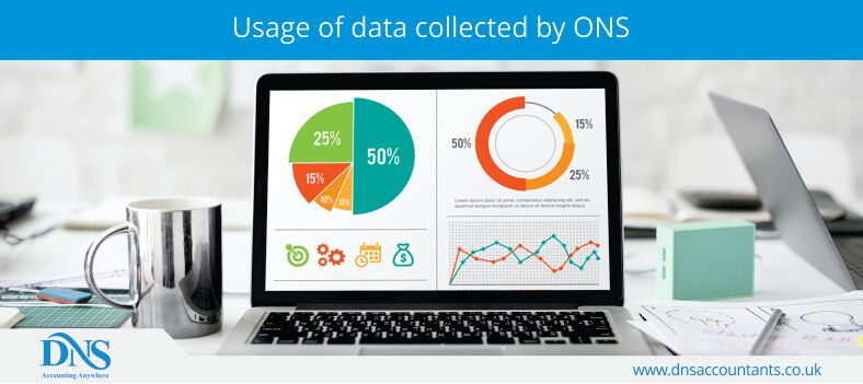 Usage of data collected by ONS