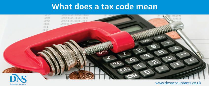 What does a tax code mean?
