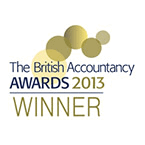 British Accountancy Award 2013