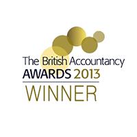 British Accountancy Award 2013