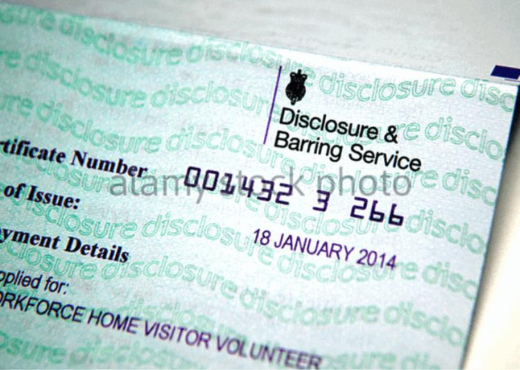 DBS Certificate