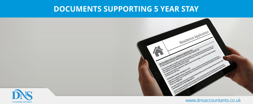 Documents Supporting 5 Year Stay
