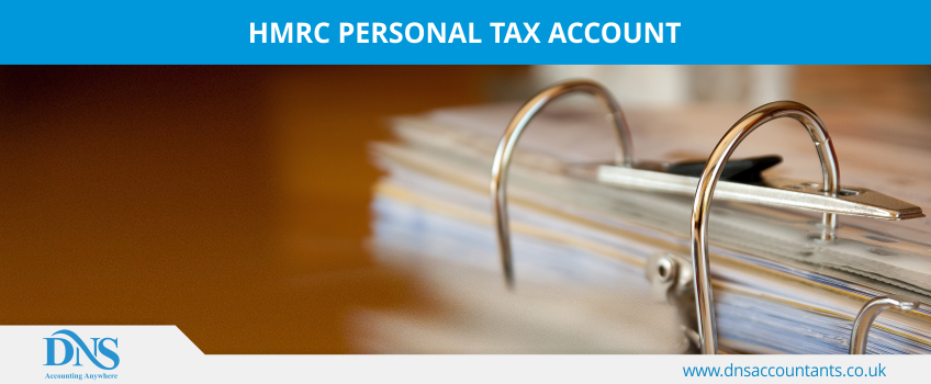 HMRC Personal Tax Account