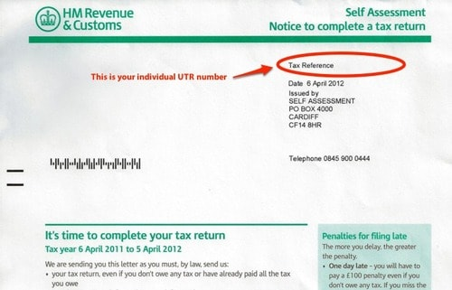 Hmrc Self Employed Welcome Letter