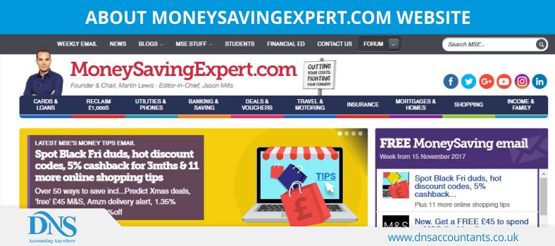 MoneySavingExpert.com Website