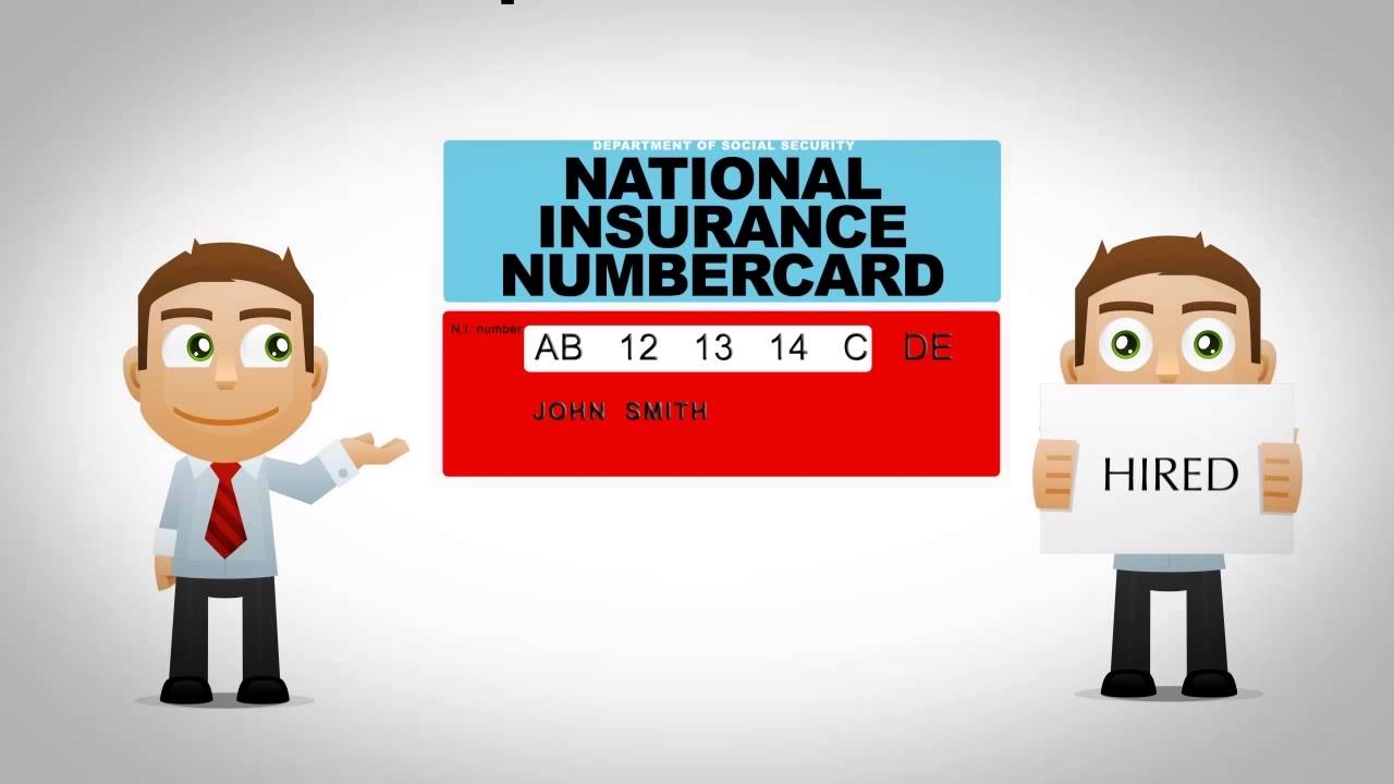 National Insurance Number for UK Working Professionals