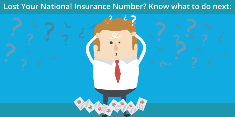 Lost Your National Insurance Number Know What To Do Next