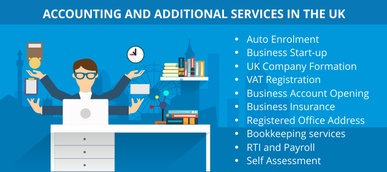 Services By an accounting firm in the UK