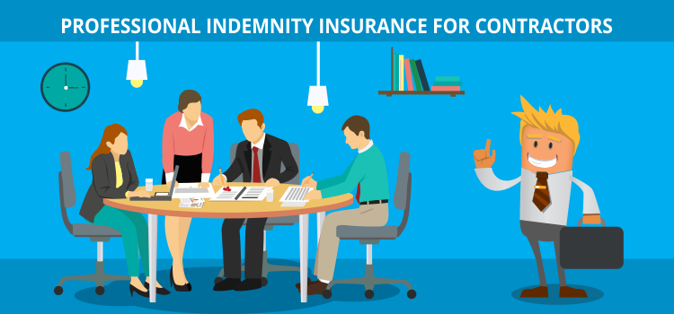 Professional indemnity insurance for contractors