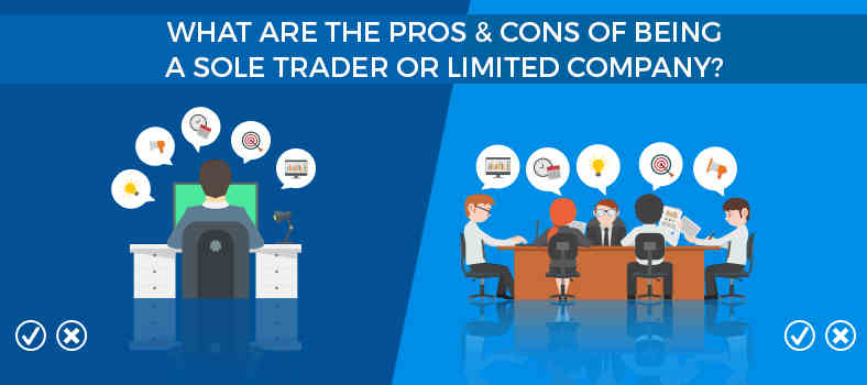 Pros Amp Cons Of A Limited Company Amp Sole Trader Dns