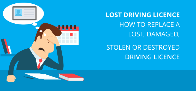 Lost Driving Licence UK