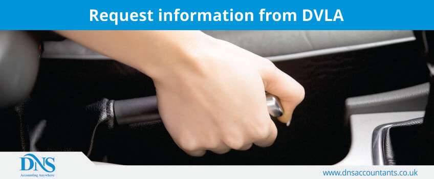 Request information from DVLA
