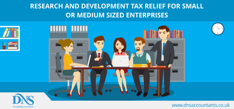 Research and Development tax relief for small or medium sized enterprises